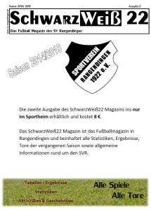 Cover verkauf SW22 auserhalb Sportheim